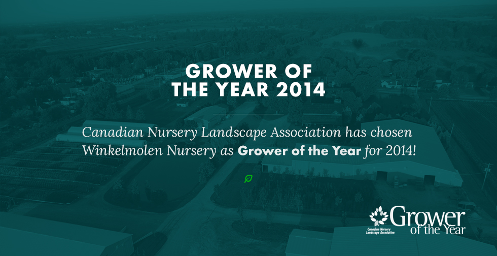 Grower of the Year scroller